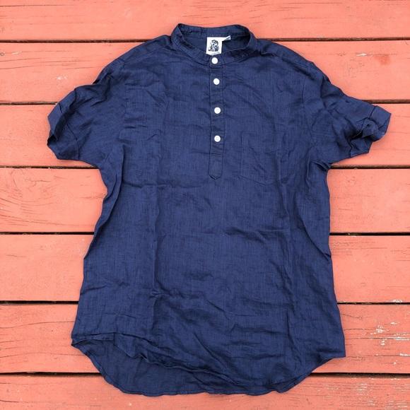 0c642d27 Vintage Shirts | Kennington Ltd Ca Mandarin Collar Shirt | Poshmark